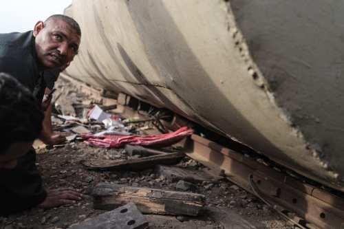 Egipto desvía las rutas ferroviarias tras el descarrilamiento del tren