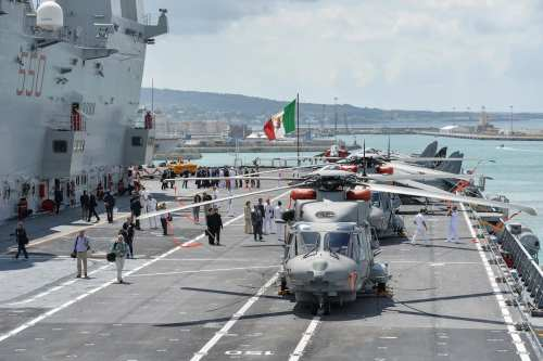 Egipto recibe su segunda fragata procedente de Italia