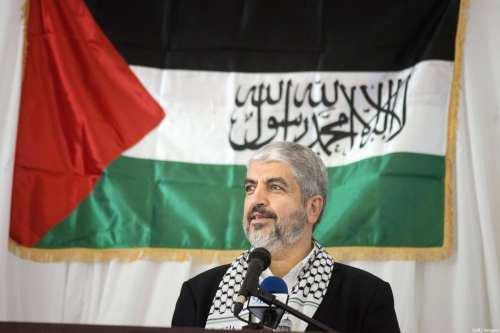 Hamás elige a Jaled Meshaal como jefe del buró político…