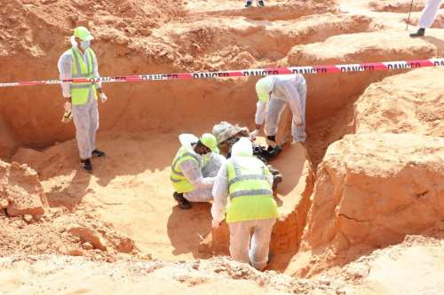 Halladas dos nuevas fosas comunes en la localidad libia de…