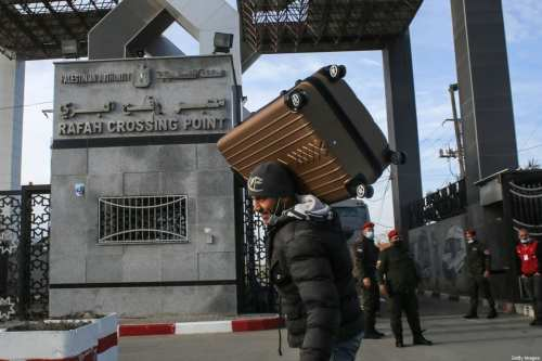 Egipto abre antes el paso de Rafah para los viajeros…