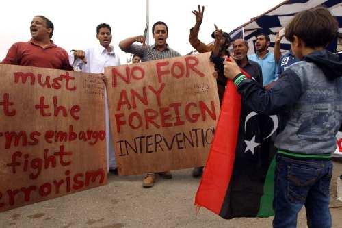 Libia ya ha pasado por esta situación con las tropas…