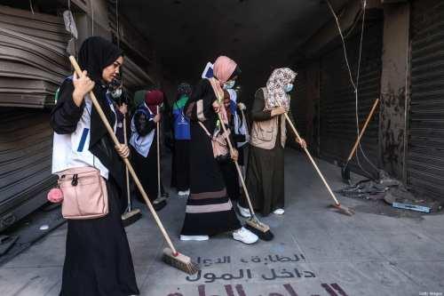 Los palestinos de Gaza están hartos del ciclo de destrucción…