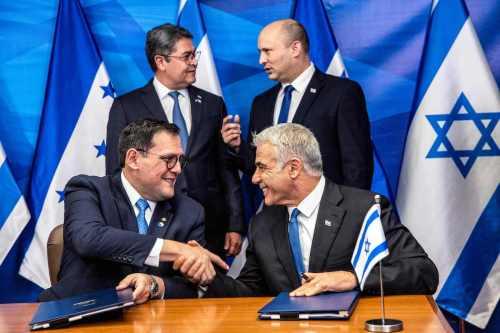 Honduras abre su nueva embajada en Jerusalén