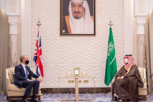 MBS se reune con el secretario de Relaciones Exteriores de…