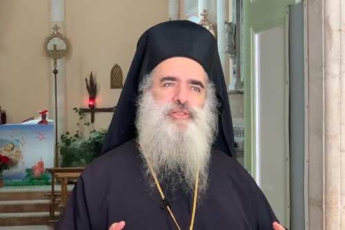 El arzobispo de Jerusalén asegura que el plan de expulsión…
