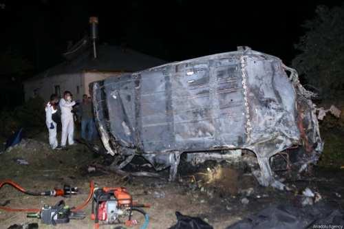 Al menos 12 muertos al estrellarse un autobús con migrantes…