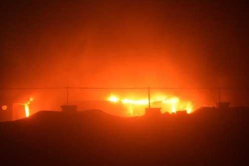 92 muertos en un incendio en las instalaciones contra la…