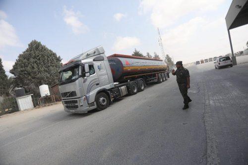 Israel prohíbe la entrada de combustible a la central eléctrica…