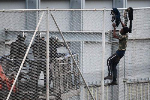 Marruecos: 238 inmigrantes cruzan la frontera con Melilla