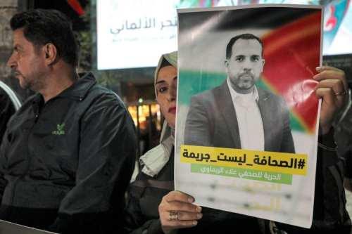 El periodista palestino Alaa Al-Rimawi es liberado