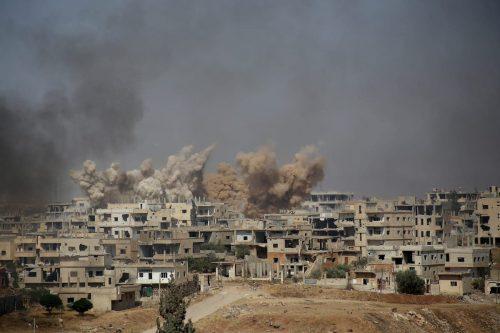 Siria: aparecen pruebas de que el régimen quema cuerpos sin…