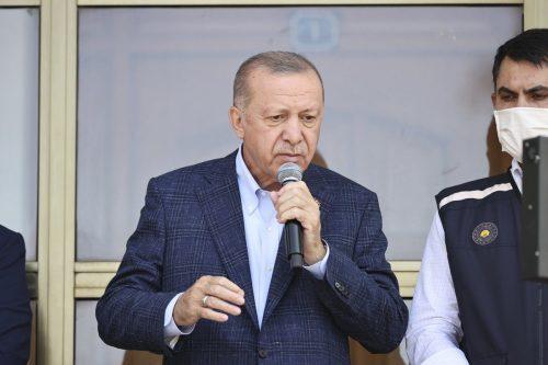 Erdogan mantiene una inusual reunión con un alto funcionario de…