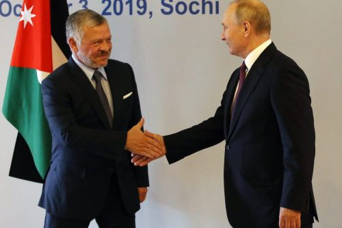 El presidente ruso y el rey de Jordania hablan sobre…