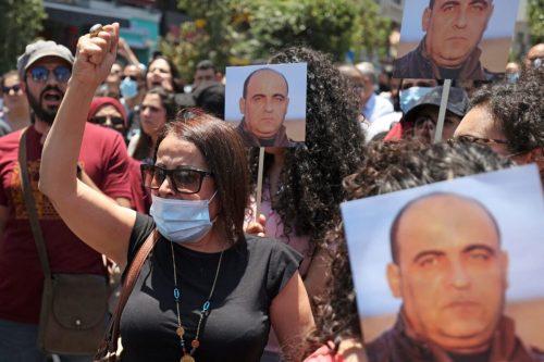 Los palestinos protestan y piden justicia por el activista asesinado…