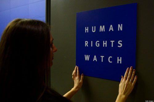 HRW favorece indirectamente la narrativa colonial y la agresión de…