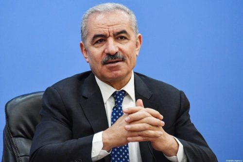 """El primer ministro palestino asegura que su pueblo quiere """"un…"""