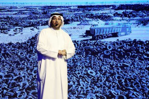 Kuwait comienza a reciclar el cementerio de neumáticos