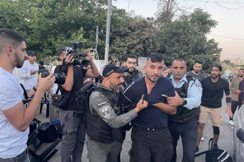 El ejército israelí detiene a 11 palestinos en Cisjordania