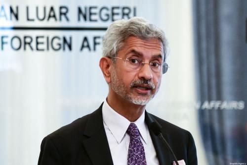 El ministro de Asuntos Exteriores de la India considera a…