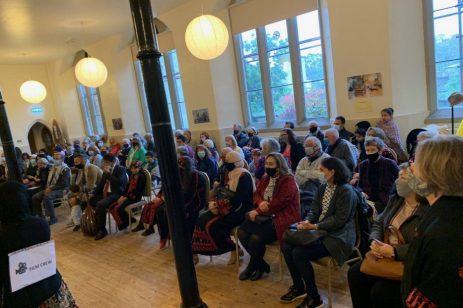 Festival de Palestina, el 9 de octubre de 2021 en Edimburgo, Escocia [proporcionado por el Festival de Palestina].