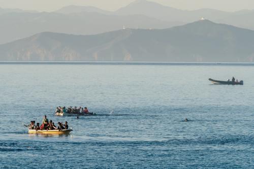 Argelia rescata a 701 inmigrantes irregulares en una semana