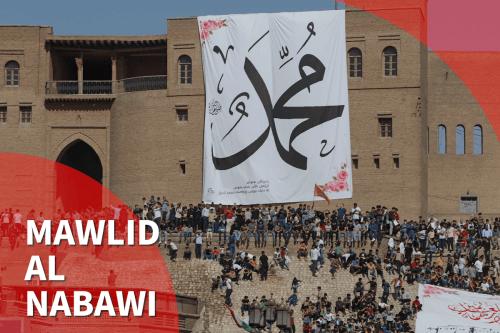 Los musulmanes celebran el Mawlid Al-Nabi, el nacimiento del Profeta…