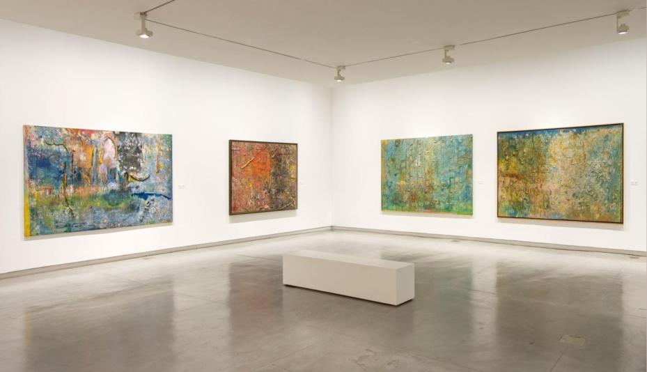 Obras de arte contemporâneas na Bienal de Arte de Sharjah, EAU [Fundação de Arte de Sharjah]