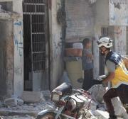 Três crianças são mortas em bombardeio russo contra zonas de desescalada na Síria