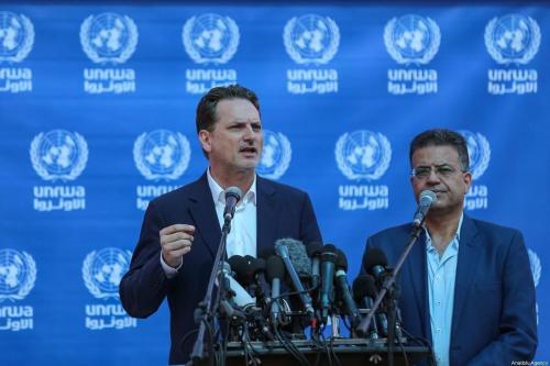 Ex-chefe da UNRWA culpa EUA e Israel por sua demissão