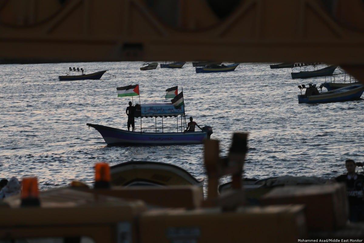 Israel devolverá 20 barcos aos pescadores de Gaza em 2 de julho de 2019 [Mohammed Asad / Monitor do Oriente Médio]