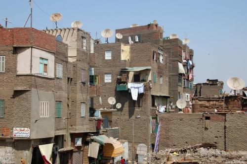 Blocos residenciais pobres no Cairo, Egito [David Evers/Flickr]