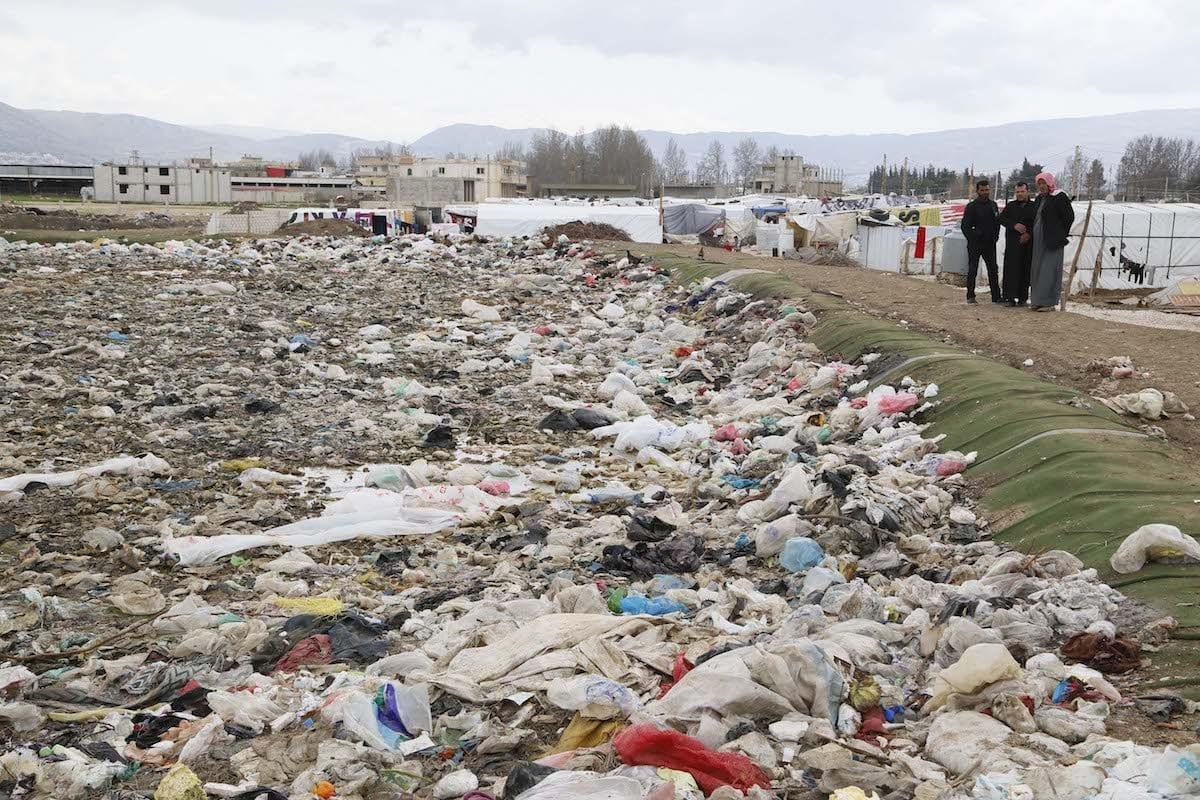 Área de disposição de resíduos em Beirute, Líbano, 21 de março de 2017 [Ratib Al Safadi/Agência Anadolu]