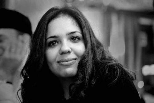Nora Younis, editora-chefe da rede de notícias Al Manassa [Hossam el-Hamalawy/Flickr]