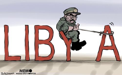 General Khalifa Haftar assumindo a Líbia - Cartum [Sabaaneh / MiddleEastMonitor]