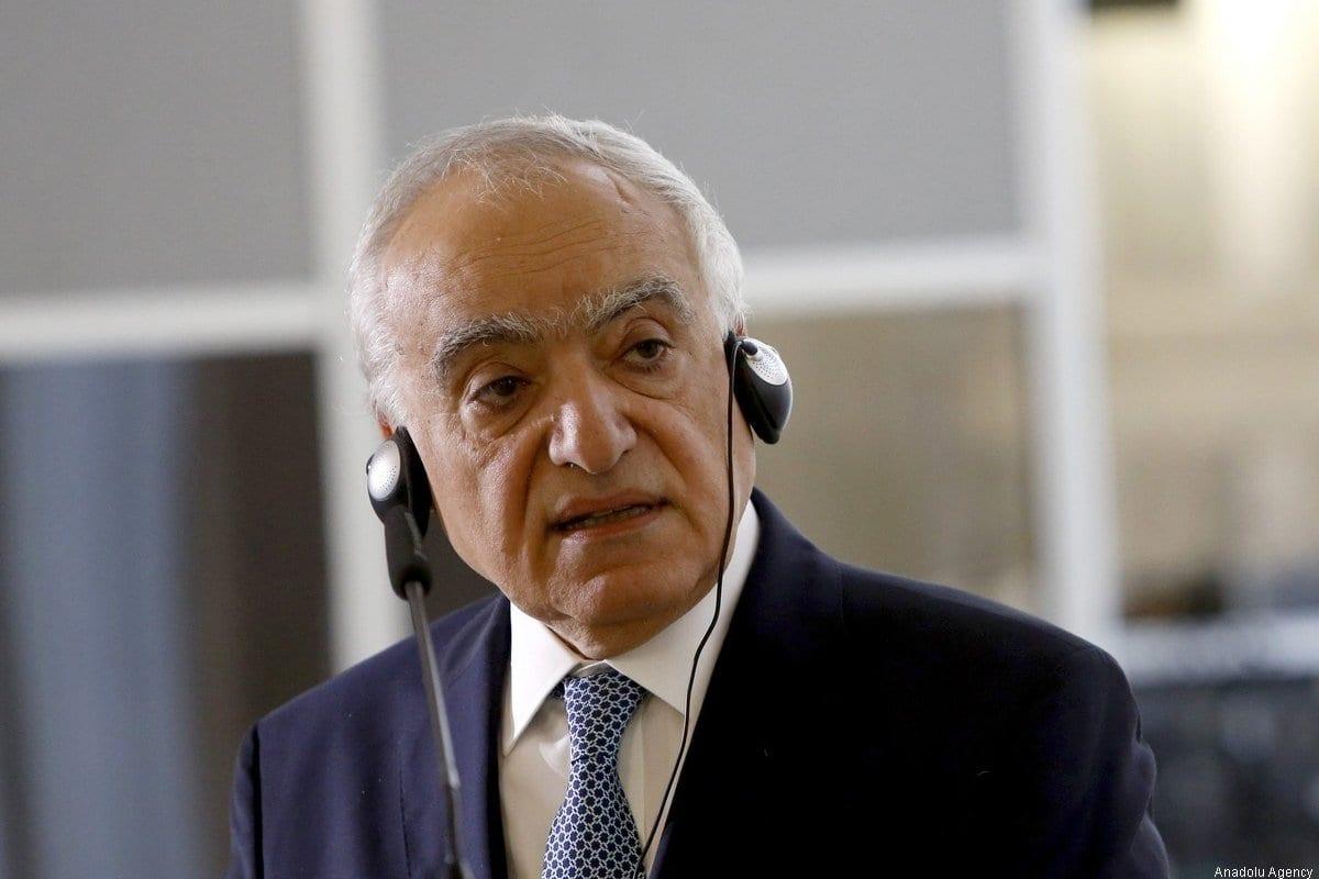 Ghassan Salamé, ex-representante especial da ONU à Líbia, em Roma, Itália, 8 de agosto de 2017 [Riccardo de Luca/Agência Anadolu]
