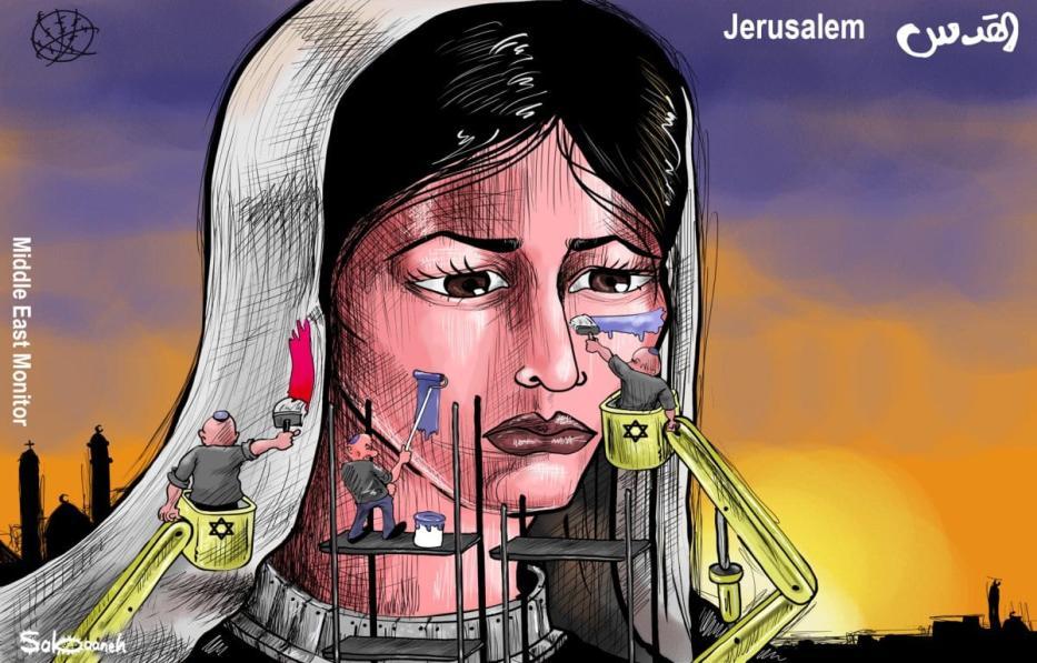 Judaização de Jerusalém [Sabaaneh/Monitor do Oriente Médio]