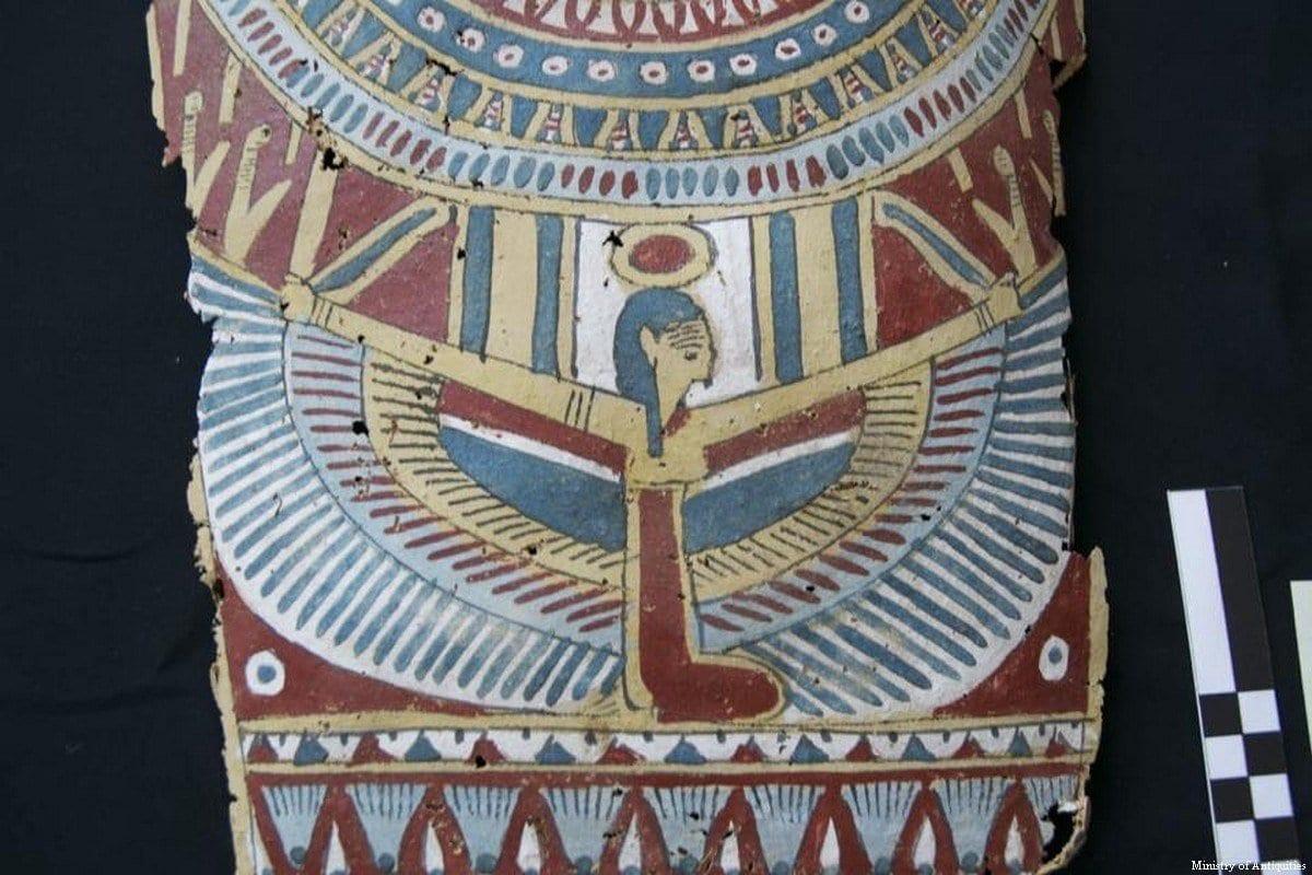 Artefato egípcio [Ministério de Antiguidades do Egito]