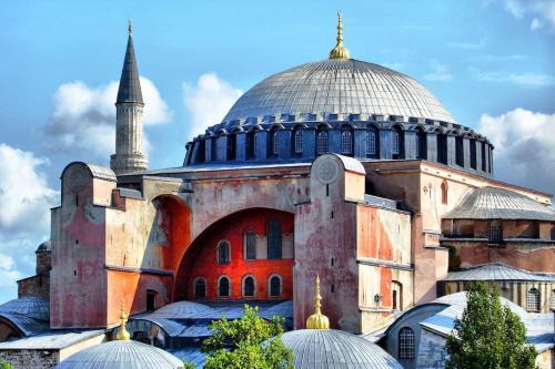 Hagia Sophia em Istanbul, Turkey, 1º de julho de 2020 [Flickr]