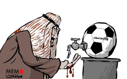 Controversa compra saudita do Newcastle United [Sabaaneh/Monitor do Oriente Médio]