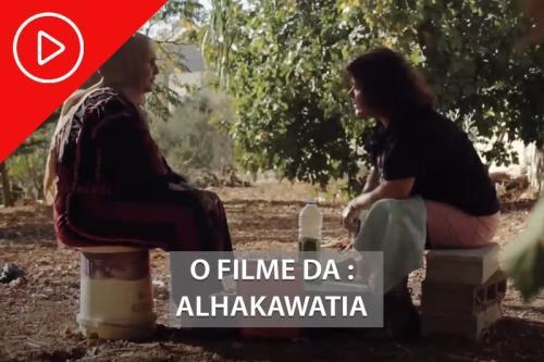 A contadora de histórias, um documentário palestino, dia 18 na web