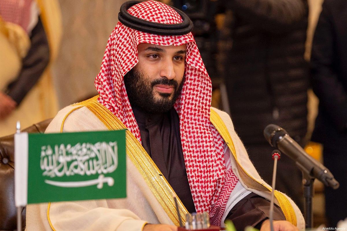 Príncipe herdeiro da Arábia Saudita Mohammad bin Salman em Islamabad, Paquistão em 17 de fevereiro de 2019 [Bandar Algaloud / Agência Anadolu]