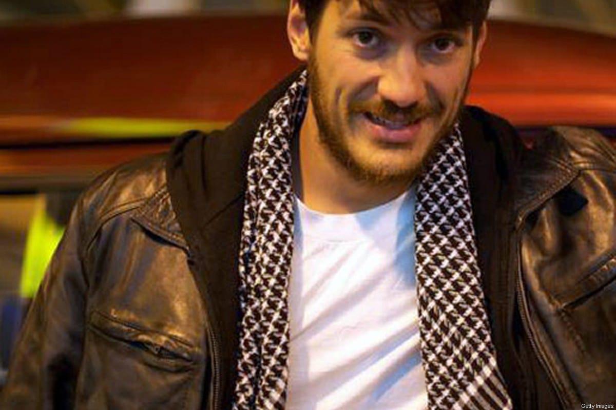 Fotógrafo Austin Tice no Cairo em março de 2012. Ele desapareceu em agosto daquele ano. [Christy Wilcox / AFP/ GettyImages]