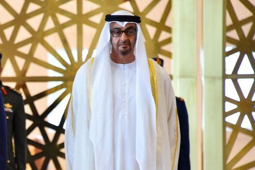 Príncipe herdeiro Mohammed bin Zayed, em Abu Dhabi, Emirados Árabes Unidos, 1° de dezembro de 2016 [Gabinete de Presidência do Egito/Apaimages]