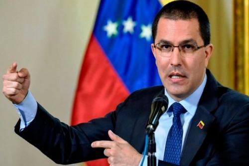 Ministro das Relações Exteriores da República Bolivariana da Venezuela, Jorge Arreaza [Runrun.es].