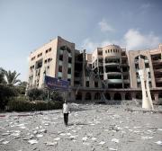 Relembrando os ataques de Israel sobre as universidades de Gaza, em 2014