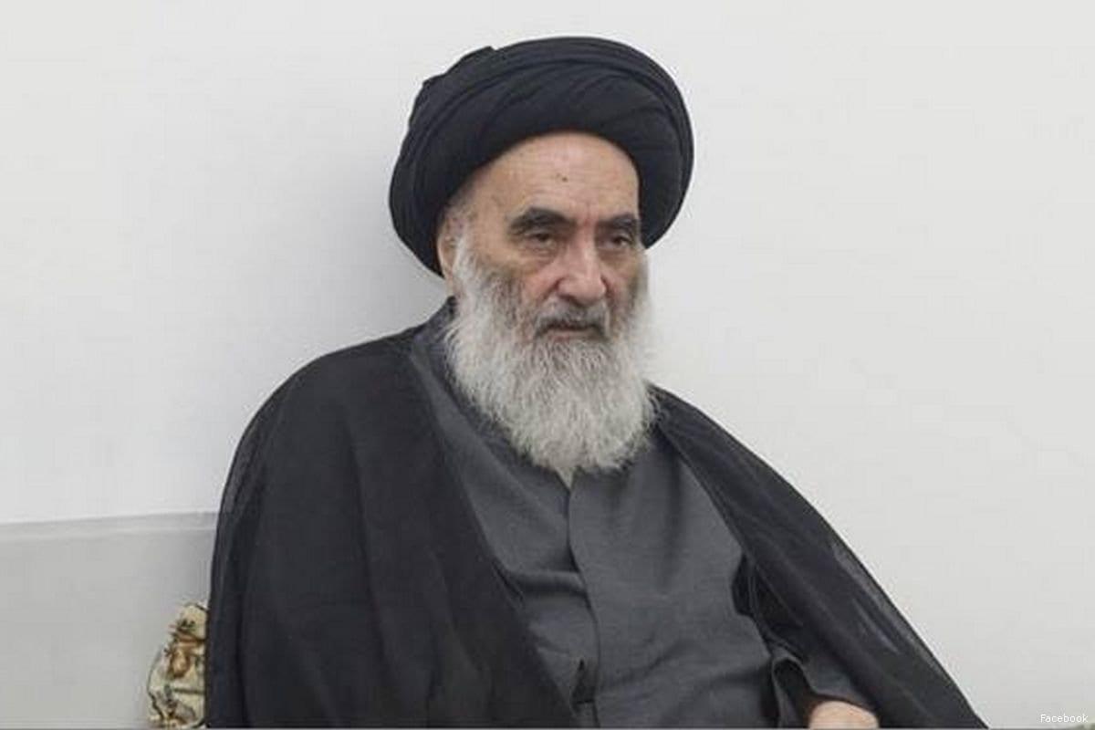 Aiatolá Ali Al-Sistani, principal clérigo xiita do Iraque [Facebook]