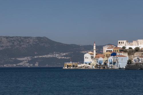 Ilha de Meis, Grécia, 3 de setembro de 2020 [Ayhan Mehmet/Agência Anadolu]