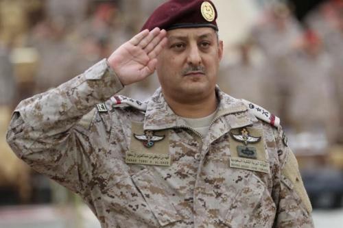 Príncipe Fahd Bin Turki, ex-comandante das forças de coalizão saudita que intervêm na guerra do Iêmen, 1° de setembro de 2020 [Edourdoo/Twitter]