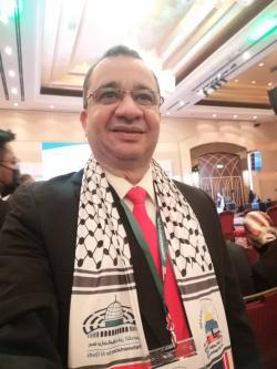 Deputado Júlio Cháves na Conferência de Al Quds na Malásia, [Foto aquivo pessoal, janeiro/2020]